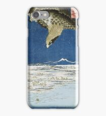 Hiroshige - One Hundred Thousand - Tsubo Plain At Susaki, Fukagawa iPhone Case/Skin