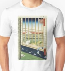 Hiroshige - Asakusa Rice Fields During The Festival Of The Cock Unisex T-Shirt