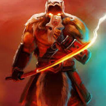 Yurnero the Juggernaut orginal by Kuvzmin