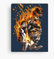 Argos In Flame Canvas Print