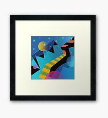 Stairway to Stars Framed Print