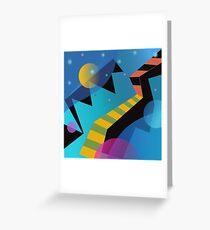 Stairway to Stars Greeting Card