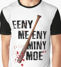 The Walking Dead - EENY MEENY MINY MOE  Graphic T-Shirt