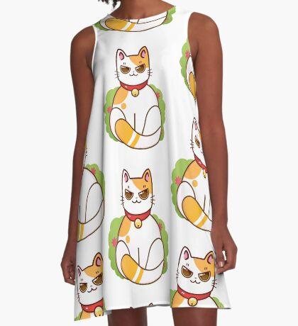 Little Kitty A-Line Dress