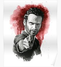 Rick Grimes - The Walking Dead Poster