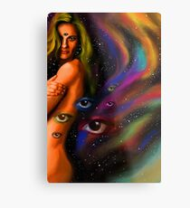 Third Eye Divine Feminine Metal Print