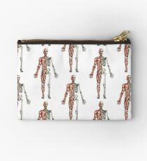 Half Muscle - Half Skeleton Zipper Pouch