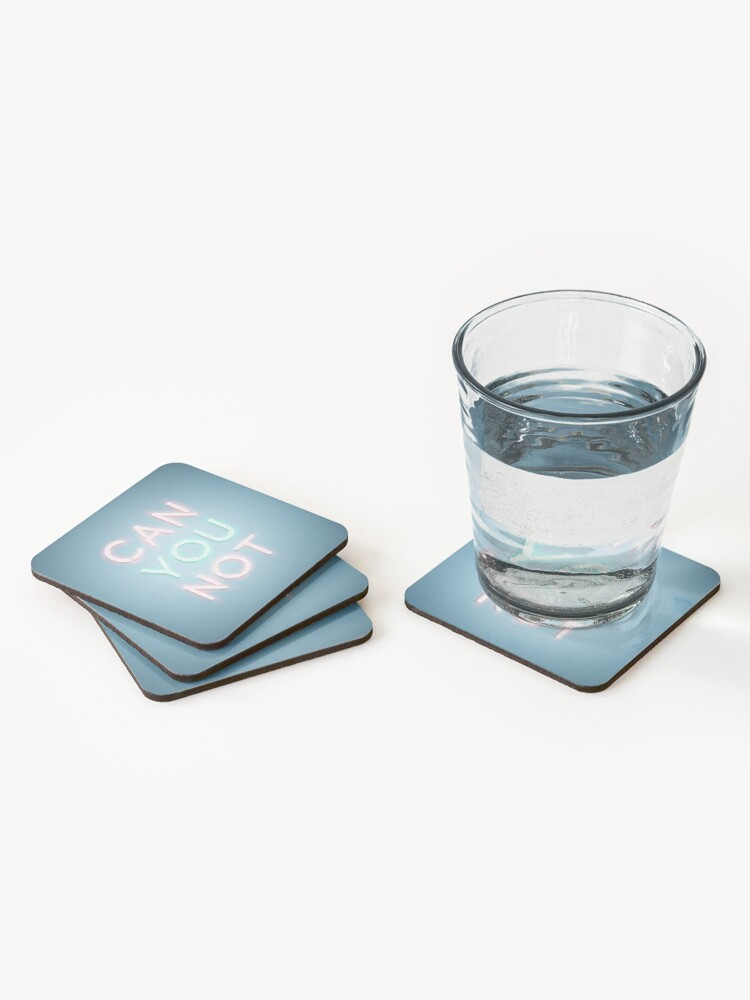 Alternate view of Can You Not Coasters (Set of 4)