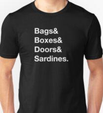 Noises Off - Sardines Unisex T-Shirt
