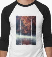 Nature*s Mirror - Fall at the River Men's Baseball ¾ T-Shirt