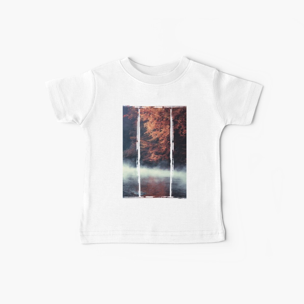 Nature*s Mirror - Fall at the River Baby T-Shirt