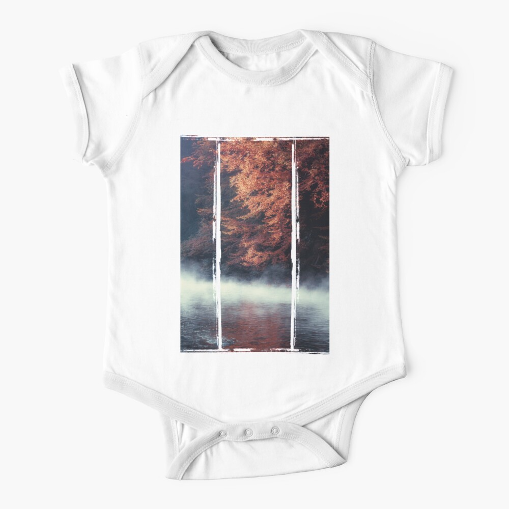 Nature*s Mirror - Fall at the River Baby One-Piece