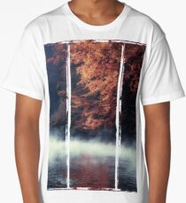 Nature*s Mirror - Fall at the River Long T-Shirt