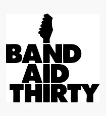 Band Aid 30 Photographic Print