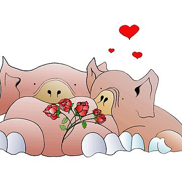 pigs in love by Royisaacs