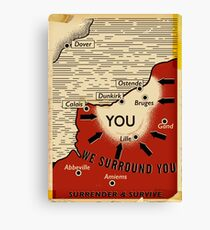We Surround You Canvas Print