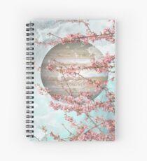 Spring Jupiter Spiral Notebook