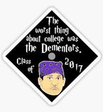 Prison Mike - Graduation Cap Sticker ORDER SIZE LARGE Sticker