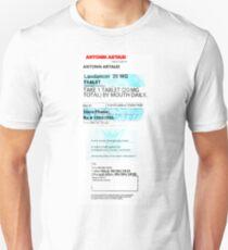 Antonin Artaud Prescription T-Shirt