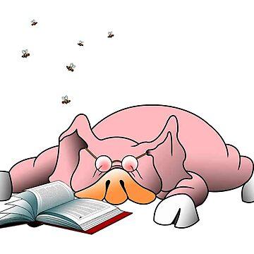 Pig 'n literate by Royisaacs