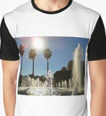 Fontaines et palmiers Graphic T-Shirt