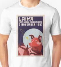 Laika dog earth 3 november 1957 Unisex T-Shirt