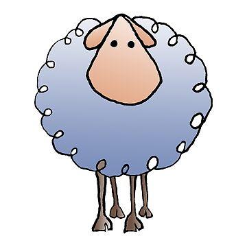 woolly sheep by Royisaacs