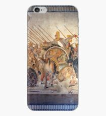 Battle of Alexander the Great and Darius III mosaic  iPhone Case