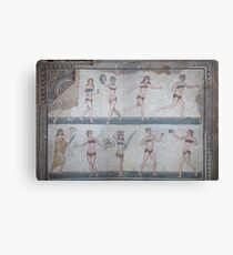 Lienzo Bikini Girls Mosaic - Villa Romana del Casale