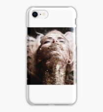 Her blood type is Glitter iPhone Case/Skin