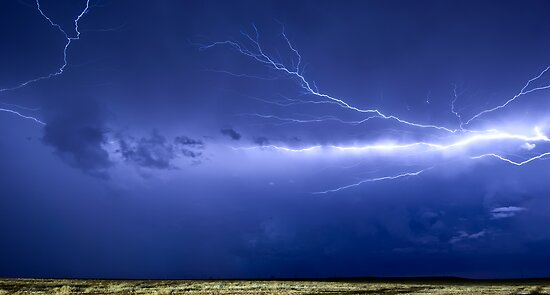 Lightning over Jackson by Craig Hender