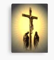 Women At The Cross (see NEW Revision In Description) Canvas Print