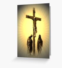 Women At The Cross (see NEW Revision In Description) Greeting Card