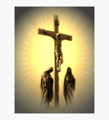 Women At The Cross (see NEW Revision In Description) Photographic Print