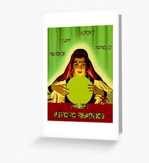 PSYCHIC READINGS: Gypsy Fortune Teller Print Greeting Card