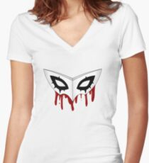 The Show is Over Women's Fitted V-Neck T-Shirt