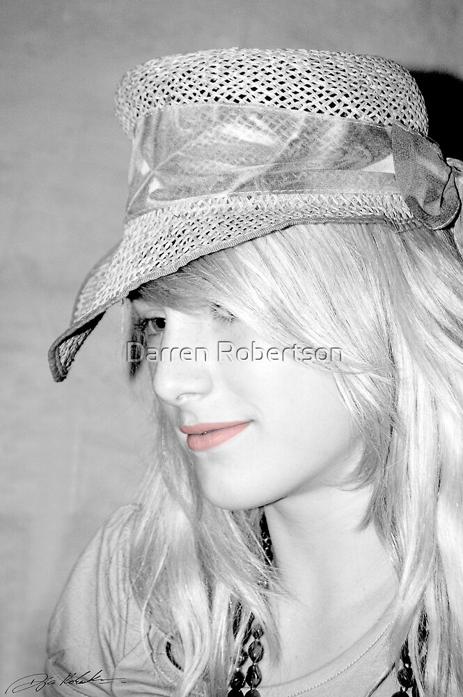 Portrait of a Fashion Designer (Fenella J Eaton 2007) by Darren Robertson