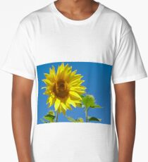 Summer Sunflower Long T-Shirt