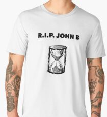 RIP John B - Sand Clock Men's Premium T-Shirt