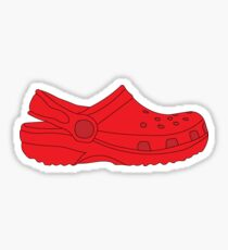 red croc Sticker