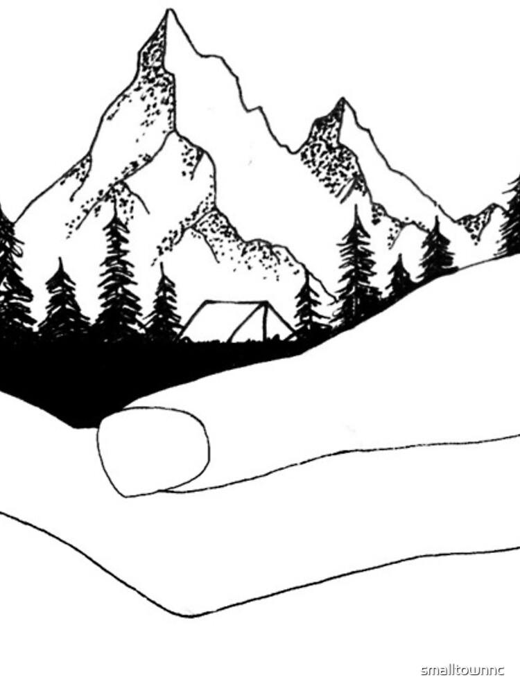 Montaña en manos de smalltownnc