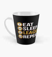 Liga der Legenden essen Schlaf-Liga-Wiederholungs-lustige Geschenke Tasse (groß)