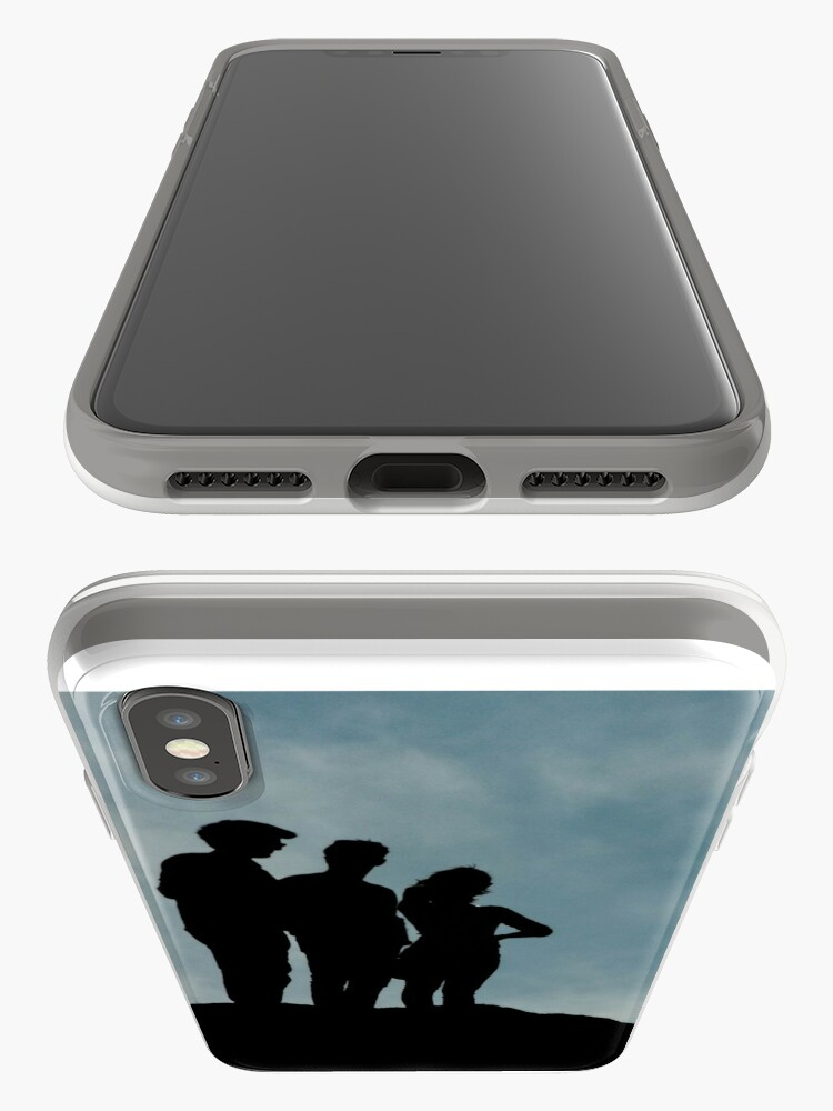 Alternate view of shadows on the hilltop  iPhone Case & Cover
