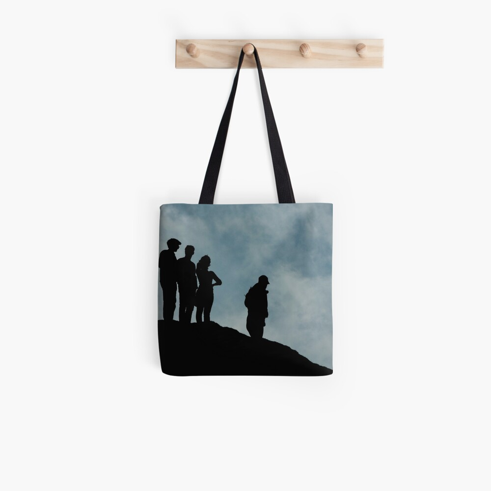 shadows on the hilltop  Tote Bag