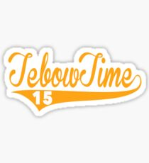 Tebow Time Funny Tim Tebow Baseball Shirt Sticker