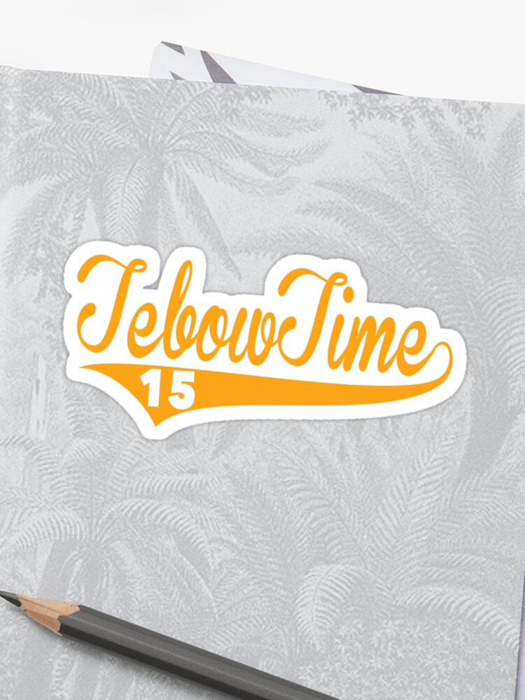 on sale dbf9b a7d08 Tebow Time Funny Tim Tebow Baseball Shirt | Sticker