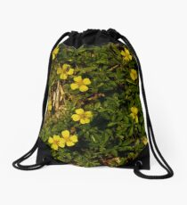 Tormentil in Shalwy Valley Drawstring Bag