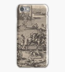 Hieronymus Bosch - Saint Martin With His Horse In A Ship1605 iPhone Case/Skin
