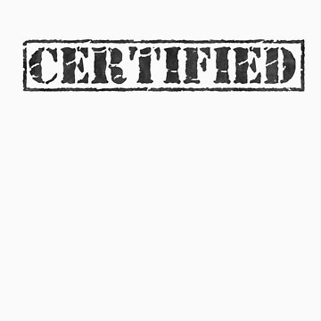 Certified - black type by PixelRider