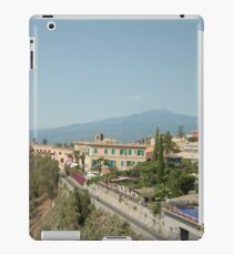 Sicily Mount Etna iPad Case/Skin